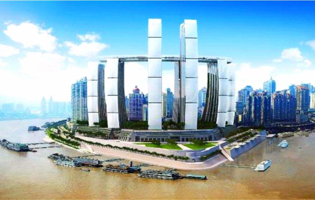 重慶橫建摩天大樓(來福士廣場)
