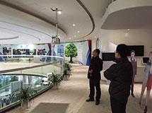 上海电视台摄像头电动伸缩吊架工程