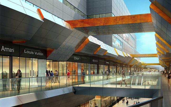 商业购物中心、综合体等为什么要设计中庭?-美际线商业设计有限公司