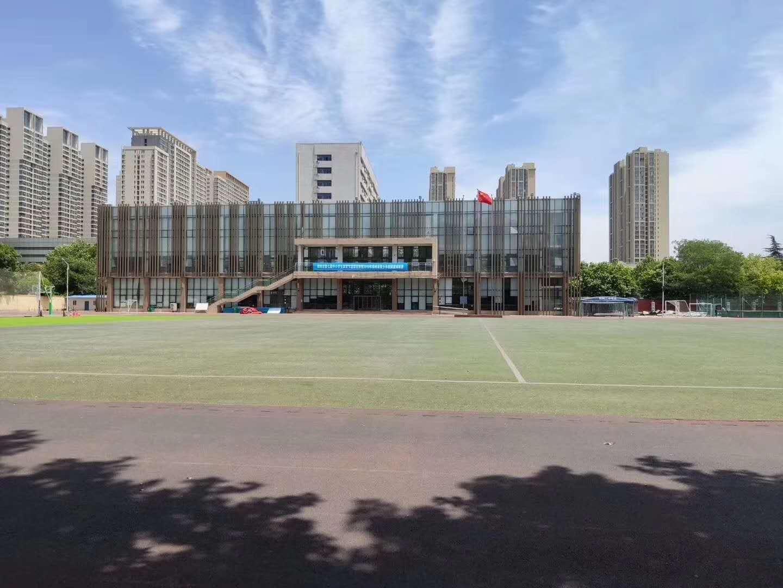 上海开放大学开学季,加快施工速度完工待验收啦!