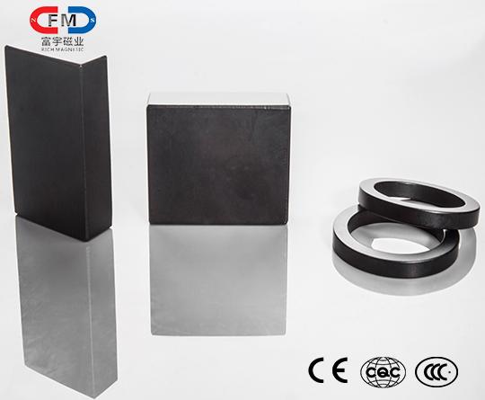 Tiled neodymium iron boron magnet