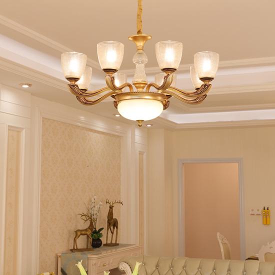 客厅美式灯具选购有何技巧?新世纪灯饰告诉你!