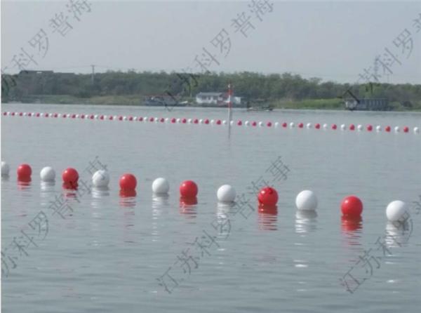 厂家定制泳道浮球