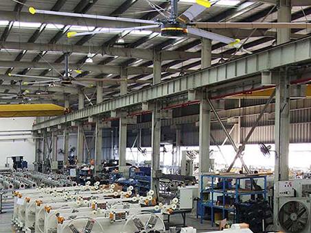 工業大風扇后期電機保養方面所需要注意的幾個點!
