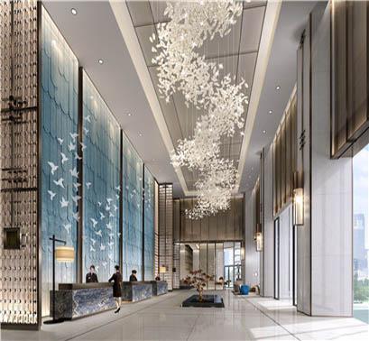 亿都分享别墅、复式户型的高层空间照明设计的做法