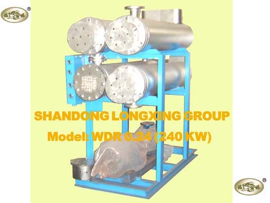 240KW Electrical Thermal Oil Heater