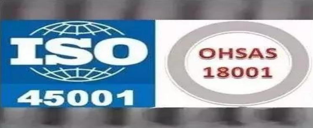 ISO 45001(2018版)  职业健康与安全管理体系标准及内审员