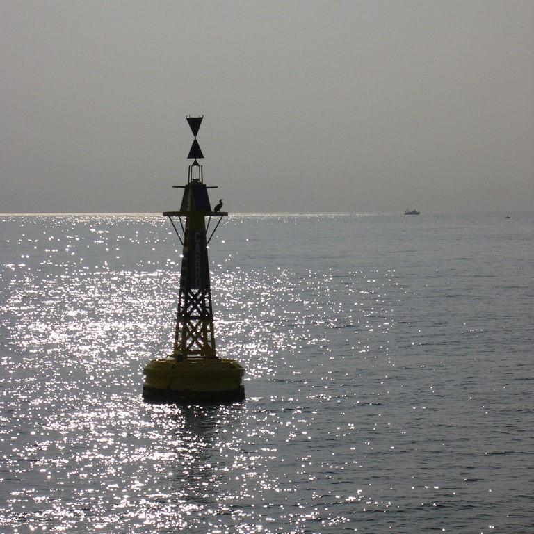 限制性航道浮标