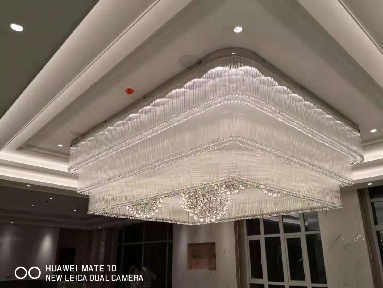 为什么可以根据水晶灯底盘就可以选择酒店水晶灯呢?