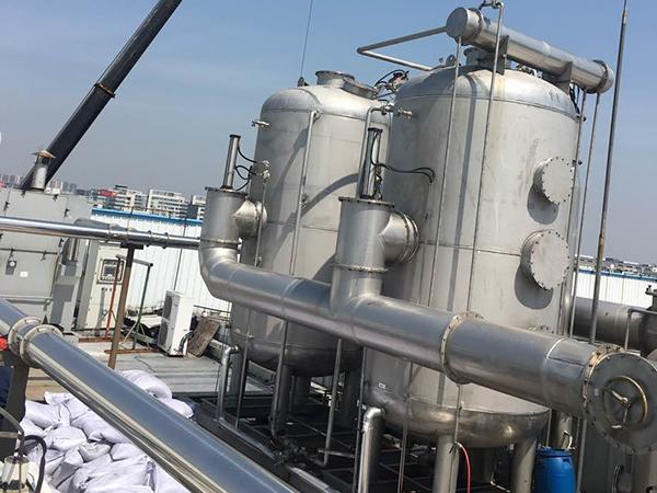 喷涂废气更换活性炭项目