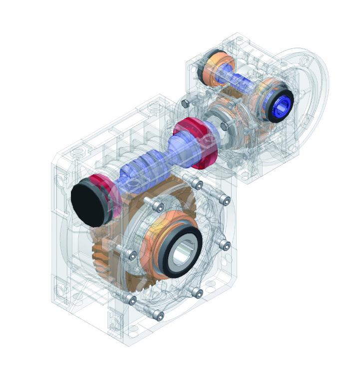 组合蜗轮蜗杆减速机