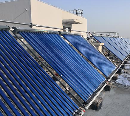 太阳能热水工程系统的组成(一)