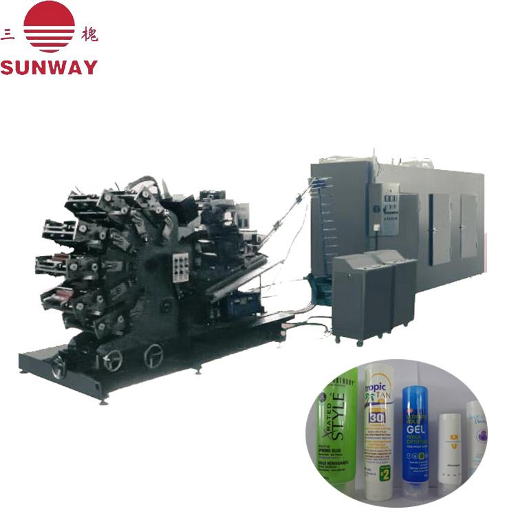 B.YS-6六色塑料软管转印机,胶印机