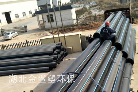 HDPE排水管工地