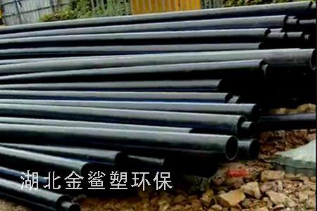 HDPE穿线管工地