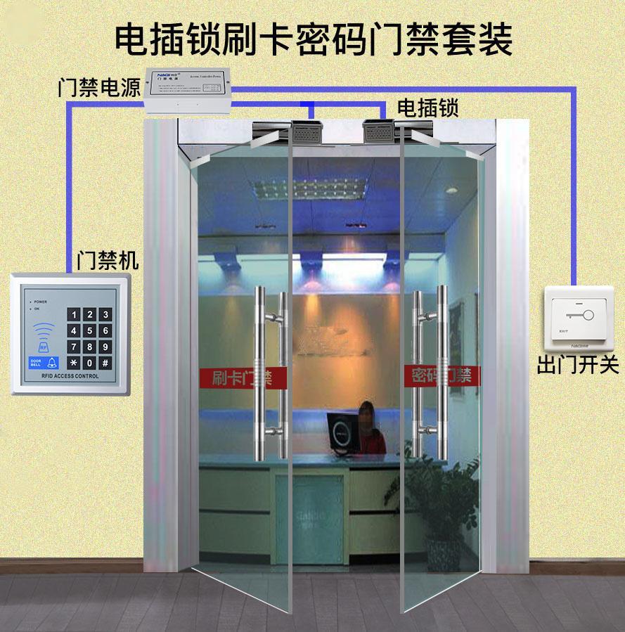 上海门禁系统安装案例