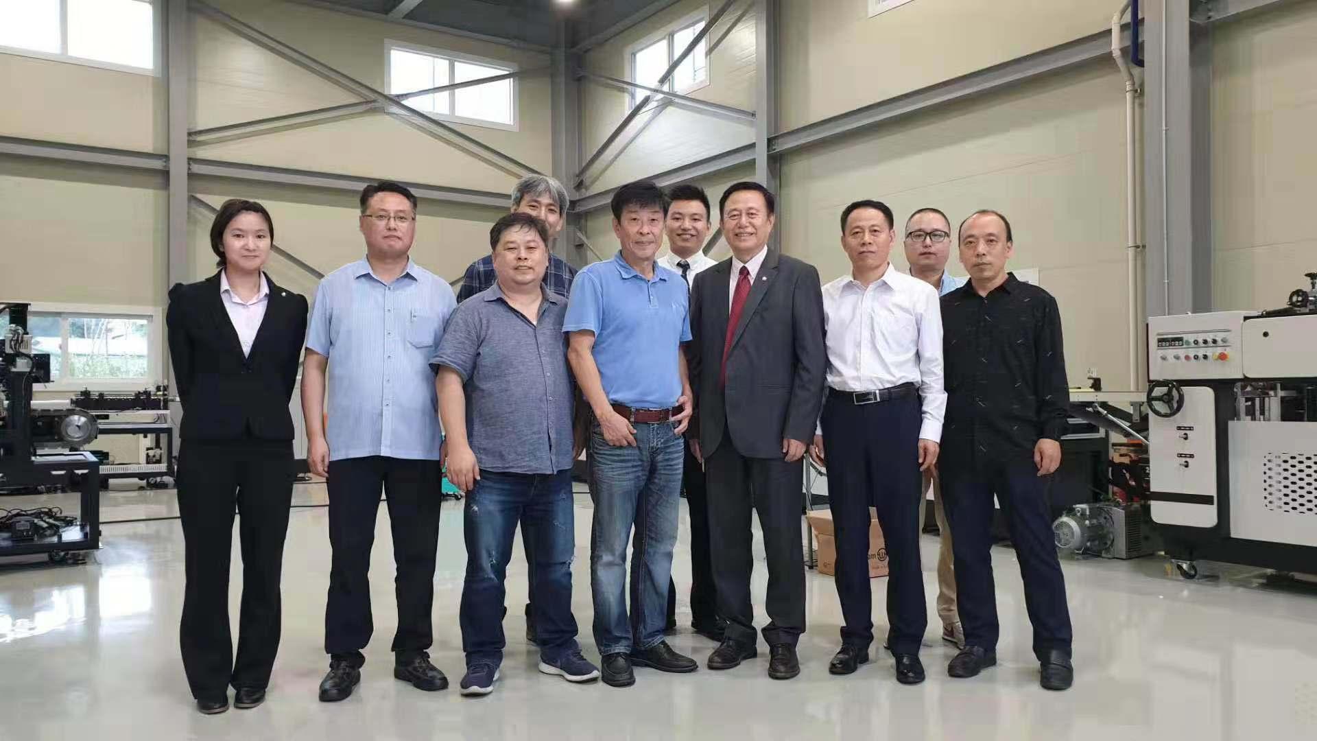 联强集团与韩国企业签订新的合资设备