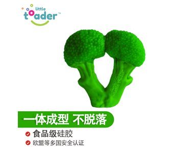 Little Toader小托德花椰菜宝宝趣味牙胶