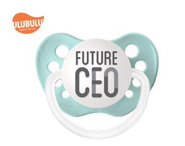 ULUBULU无比乐宝宝CEO6-18个月宝宝安抚奶嘴