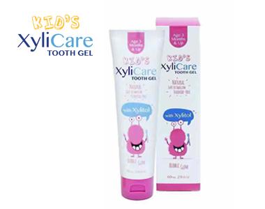 Xylicare莱利可婴幼儿泡泡糖小怪兽牙膏