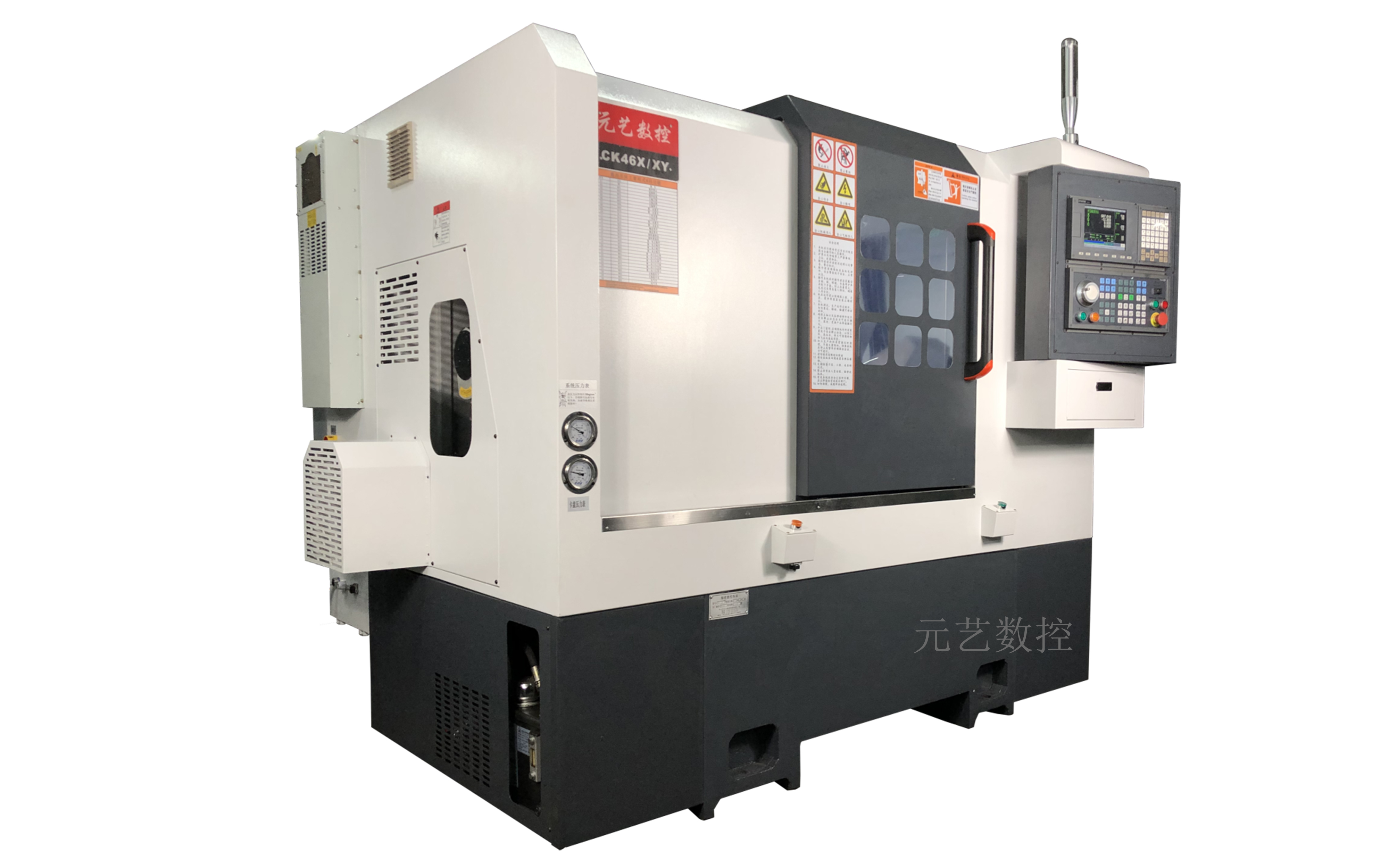 CK46X/XY 排刀Y軸車銑復合精密數控車床
