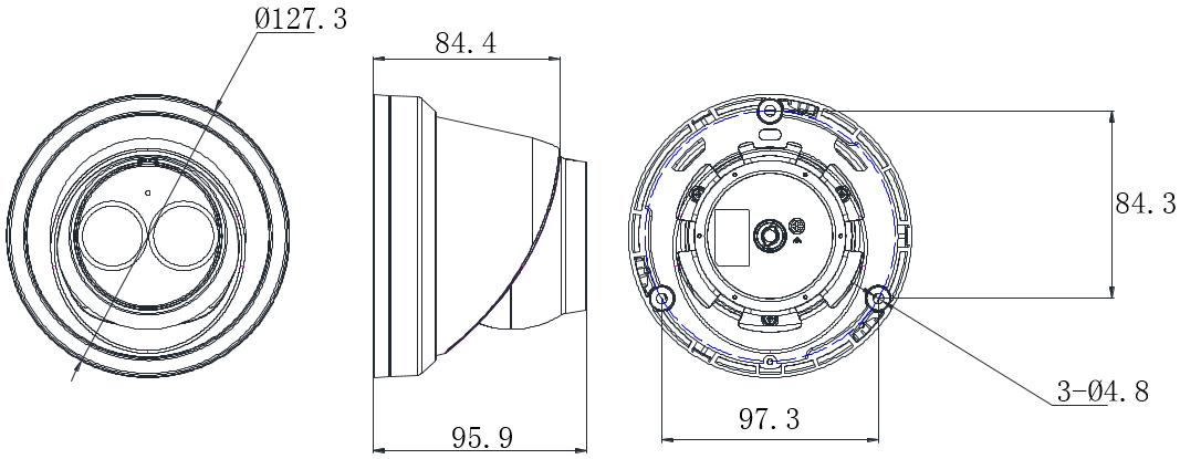 音频半球DS-2CD3325F(D)-I(S)
