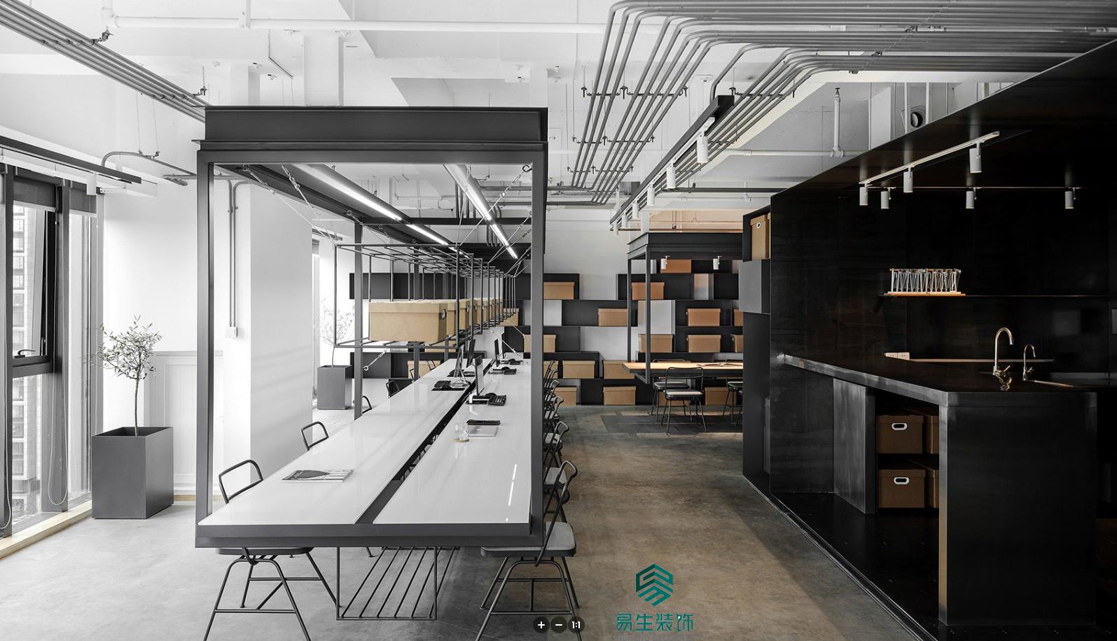 智逸工业办公室装修设计