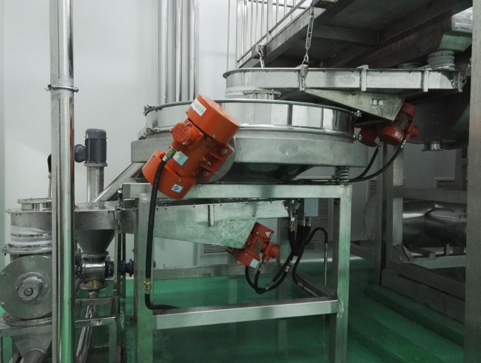 振动筛分、输送、除尘整条生产线