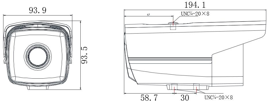 200万星光红外枪机DS-2CD3T26(D)WD-I3/I5