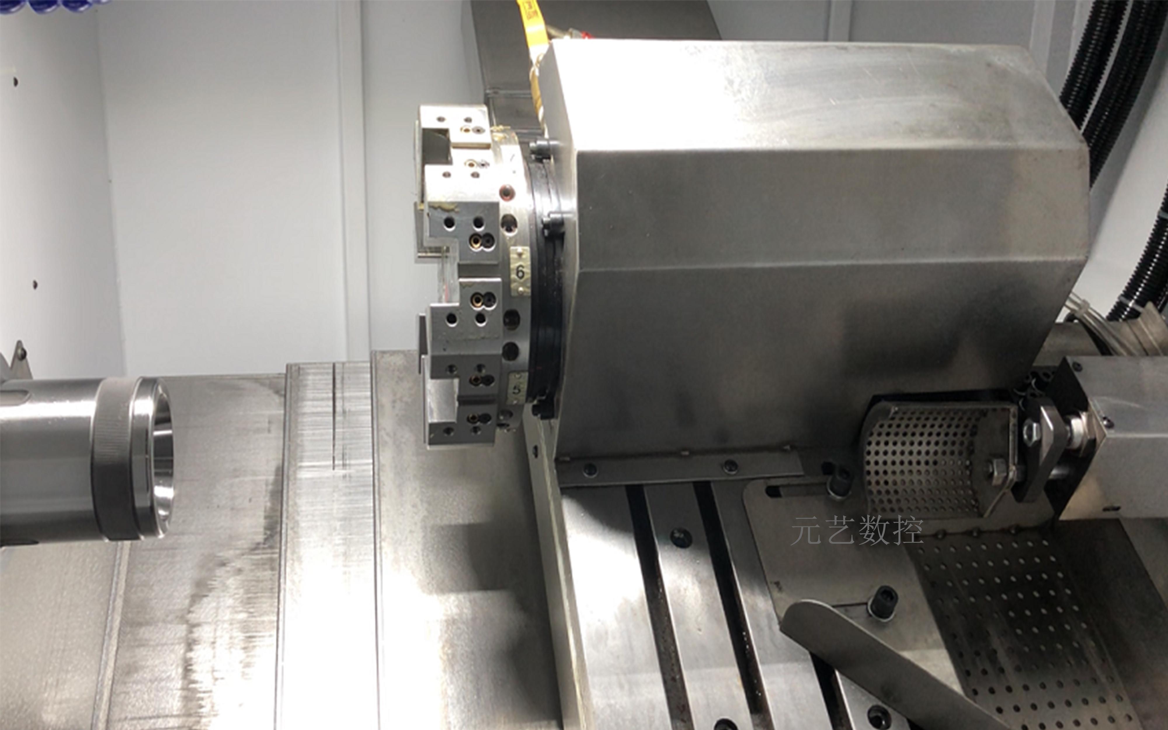 CK46X/D 刀塔斜軌精密數控車床(不帶尾頂)