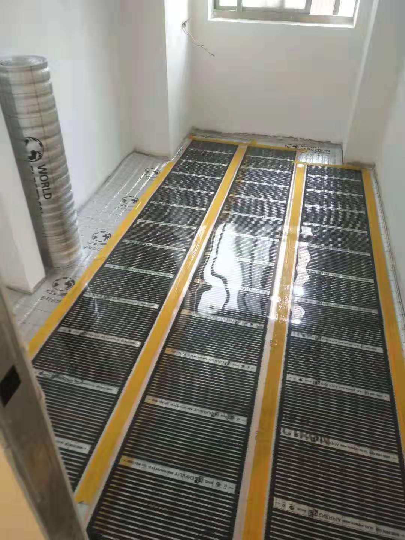 地暖埋管铺设方式和施工条件