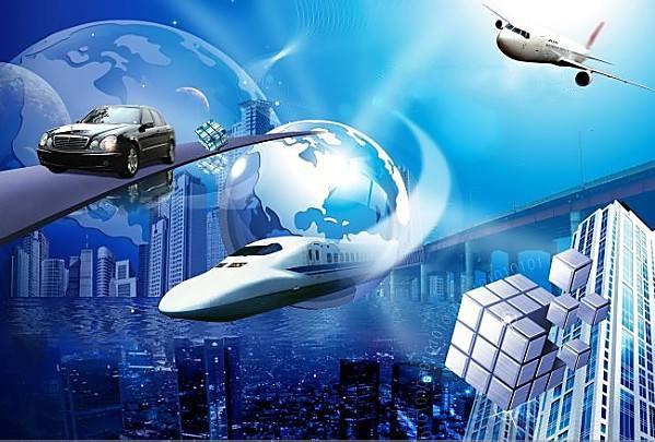 汽车、火车与飞机工业