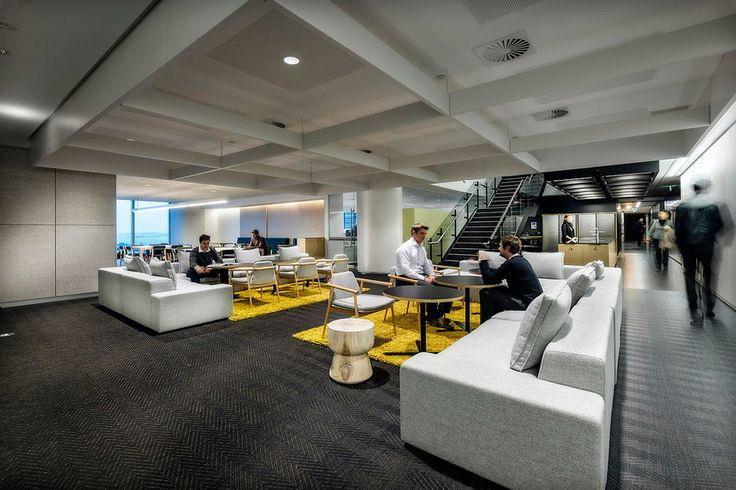 现代办公空间设计中对团队的解读!