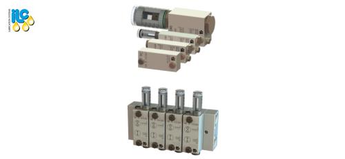 DR-DF modular two-line distribution valve