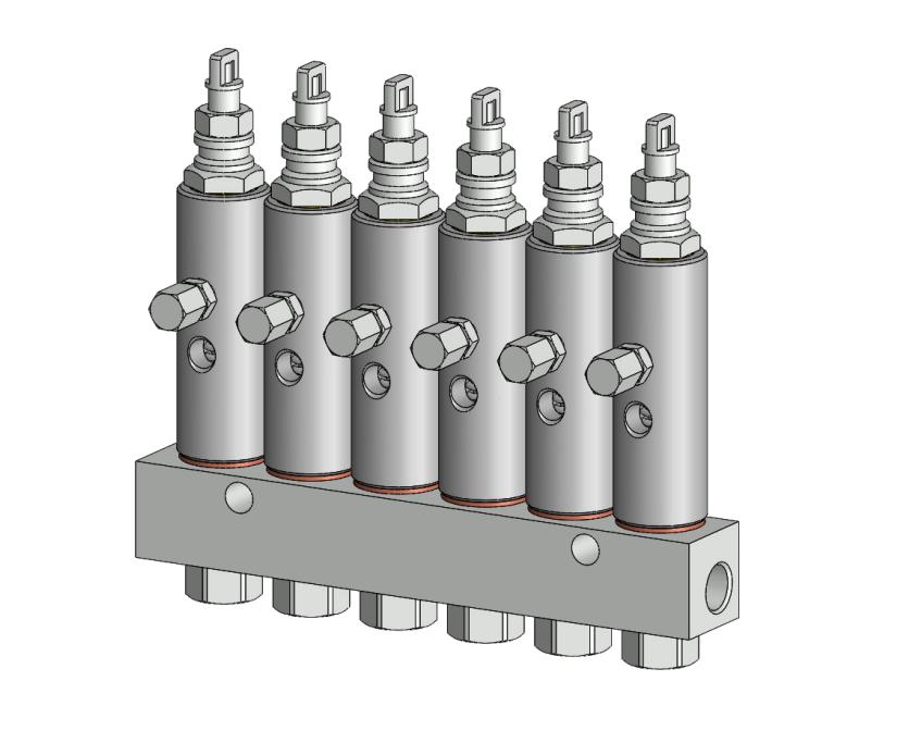 CX-1系列单线注脂器