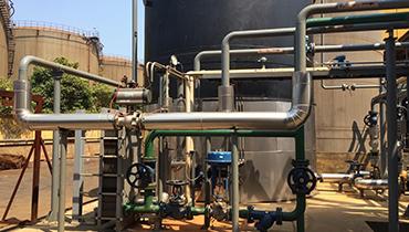 朗盛空气管改造和新增铁黑搅拌桶项目