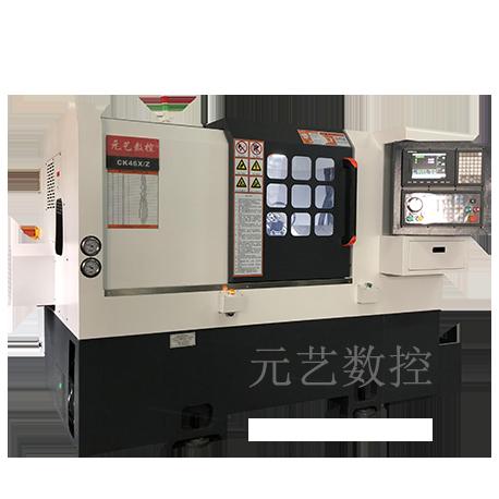 CK46X/Z ramp rail cutter precision CNC lathe