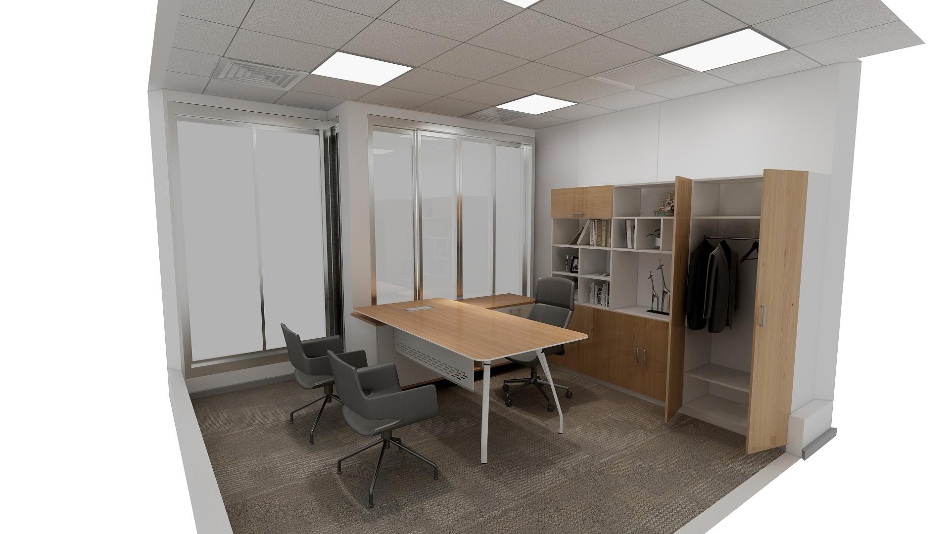 经理室装修风格