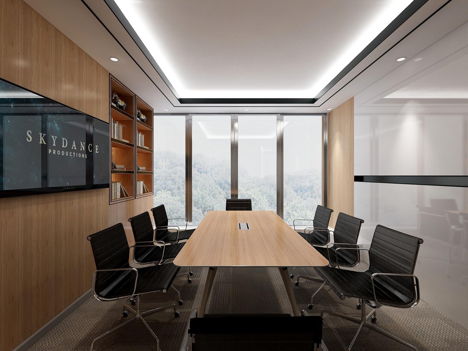 会议室装修图片