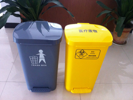 30L醫療腳踏垃圾桶