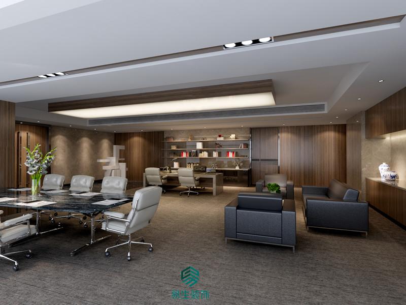 中汇投资企业办公室装修设计