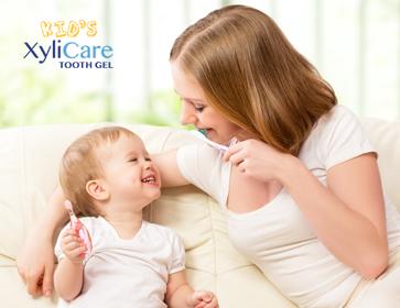 XyliCare儿童牙膏——木糖醇含量35%的医疗级别儿童牙膏!
