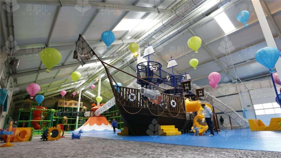 儿童游乐设备之波兰海盗船主题