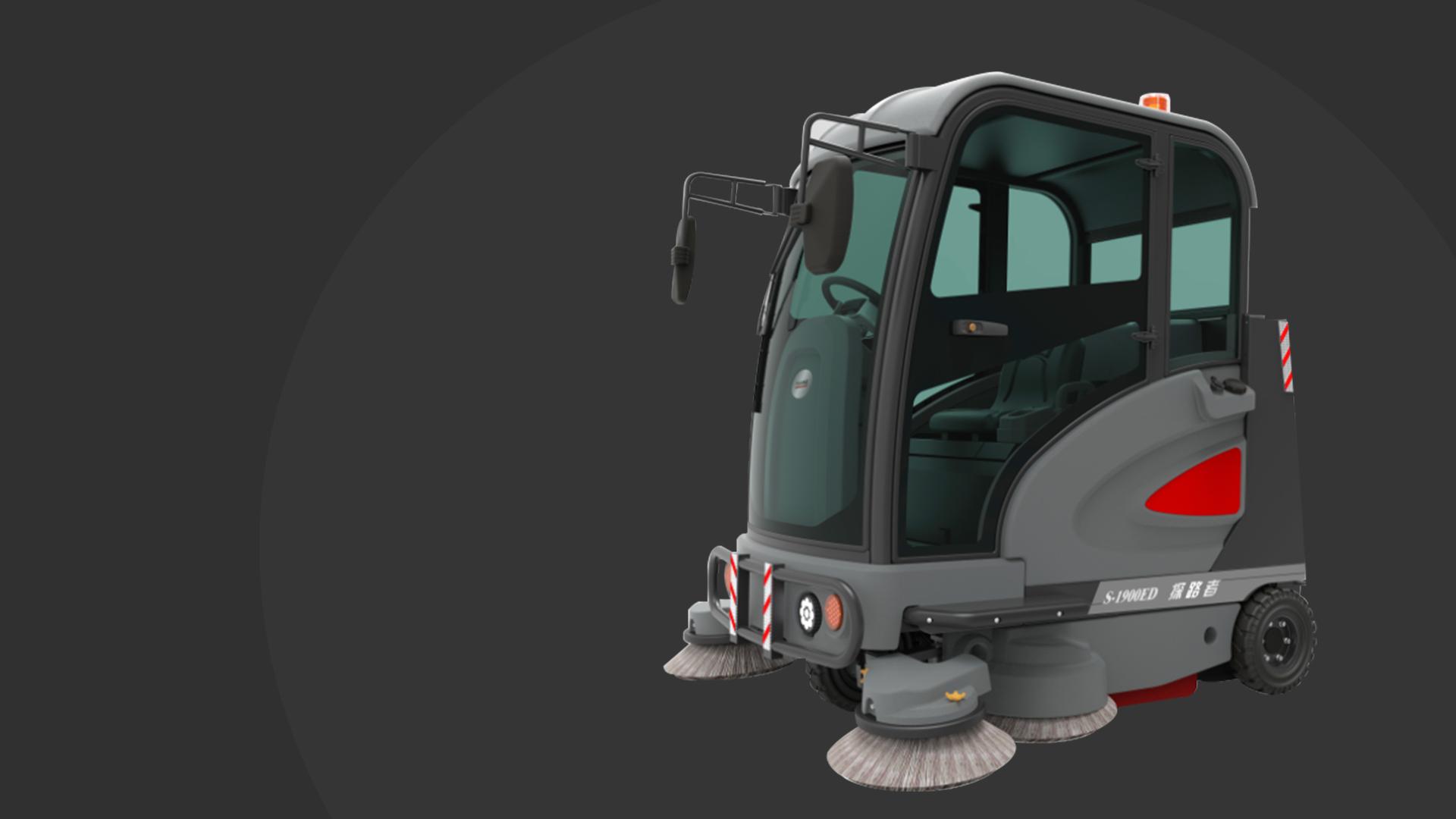 一台用了几年的扫地车噪音越来越大该怎么办?