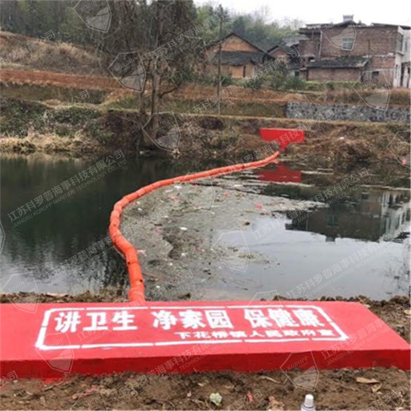 拦污网滚塑浮体