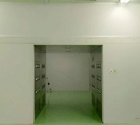 Air shower room of electronic Cleanroom