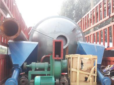 新型燃料生物质常压热水锅炉