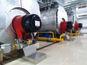 市府锅炉改装工程