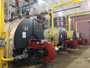 华峰超纤锅炉改装工程