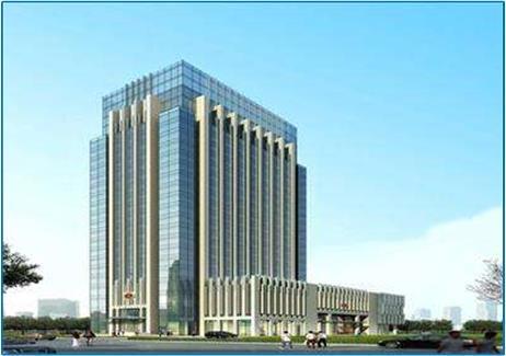 连云港国检大厦全面采用善一公司AFS门禁、梯控和消费系统